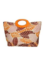Romy M.  Colorful Leaf Tote - Product Mini Image