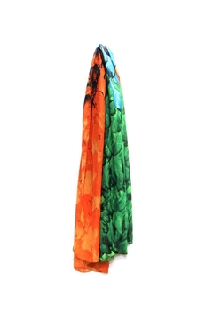 Diane's Accessories Colorful Patterned Scarf - Alternate List Image