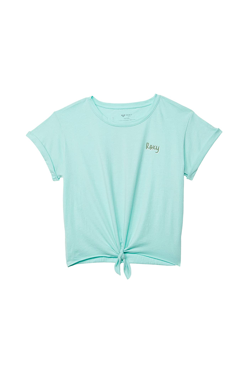 Roxy  Colorful Pineapple Tie-Front Tee - Main Image
