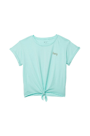 Roxy  Colorful Pineapple Tie-Front Tee - Front cropped