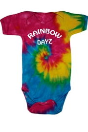 Colorful Rainbow Days Bodysuit - Front cropped