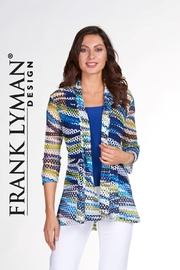 Frank Lyman Colorful semi swing jacket. Can be worn with camisole. - Product Mini Image
