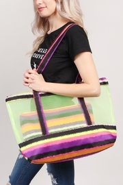 Riah Fashion Colorful-Shoulder-Bag And Pouch-Set - Side cropped
