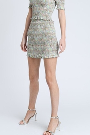 storia Colorful Smocked Skirt - Side cropped