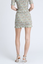 storia Colorful Smocked Skirt - Back cropped