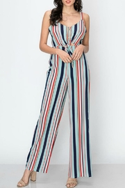 Favlux Colorful Stripe Jumpsuit - Product Mini Image