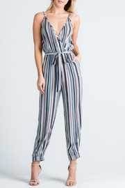 Cien Colorful Stripe Jumpsuit - Front full body