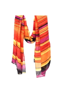 Diane's Accessories Colorful Striped Scarf - Alternate List Image
