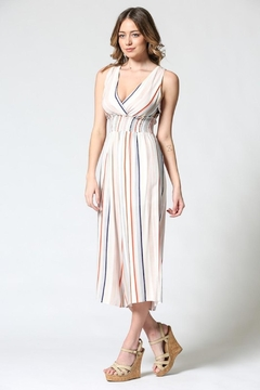 Illa Illa Colorful Stripes Jumpsuit - Alternate List Image