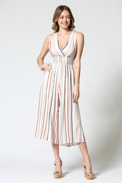Illa Illa Colorful Stripes Jumpsuit - Product List Image