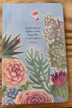 Compendium Books Colorful Succulent Notebook - Alternate List Image