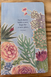 Compendium Books Colorful Succulent Notebook - Front cropped