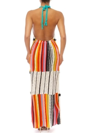 luxxel Colorful Sweater Dress - Front full body