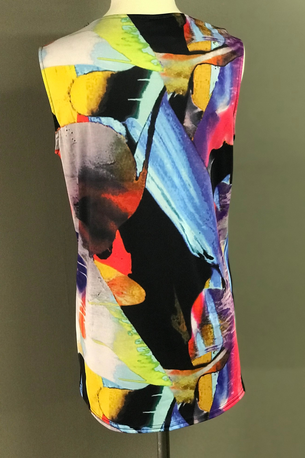 Michael Tyler Collections Colorful Tank - Front Full Image