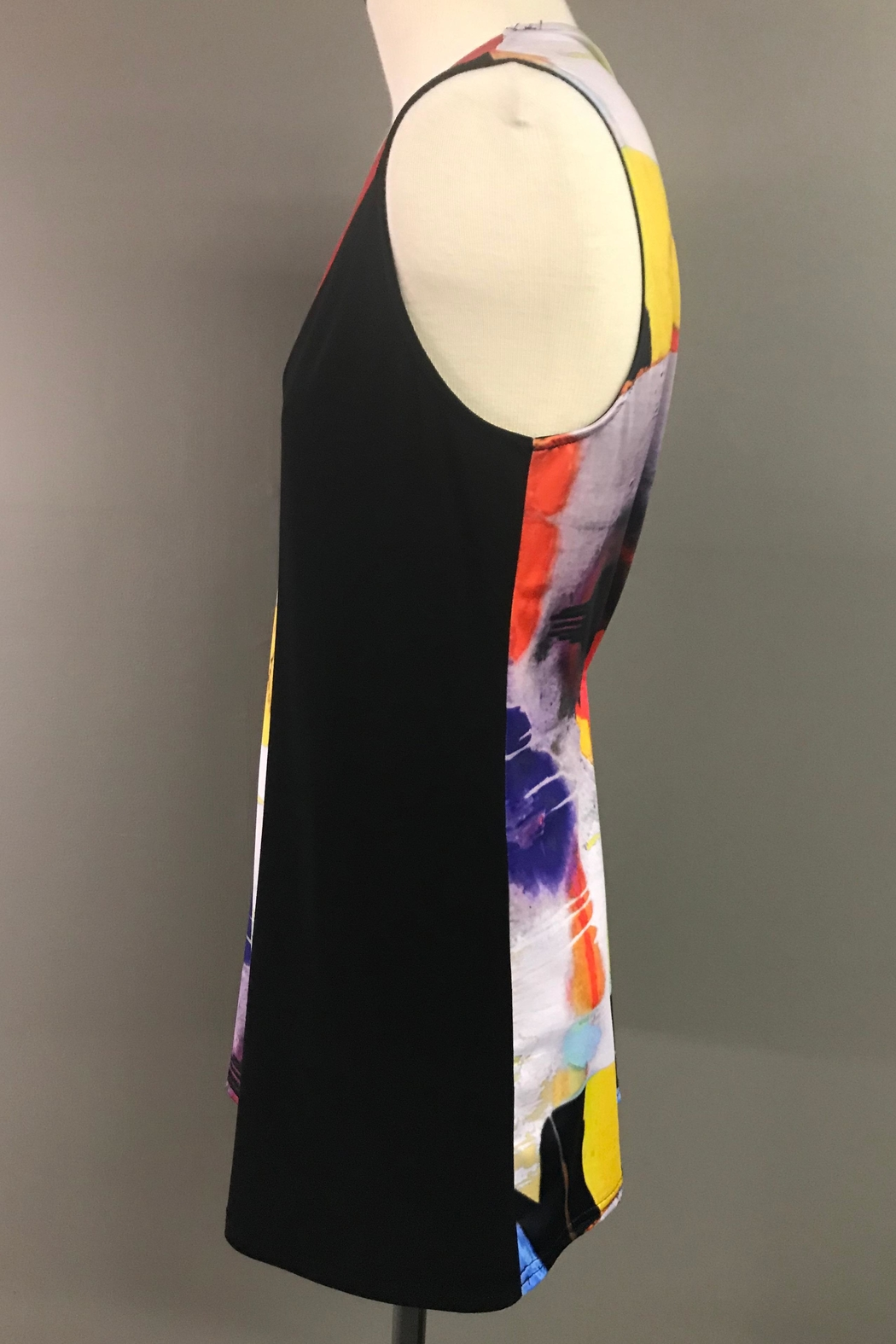 Michael Tyler Collections Colorful Tank - Side Cropped Image