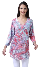 Parsley & Sage Colorful V-Neck Tunic - Product Mini Image