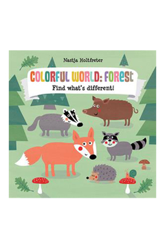 Usborne Colorful World: Forest Find What's Different - Alternate List Image