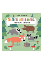 Usborne Colorful World: Forest Find What's Different - Product Mini Image