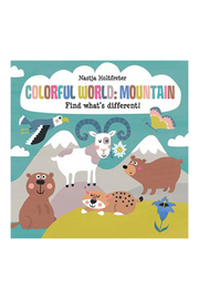 Usborne Colorful World: Mountain Find What's Different - Product Mini Image