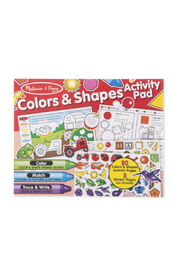 Melissa and Doug Colors & Shapes Activity Pad - Product Mini Image