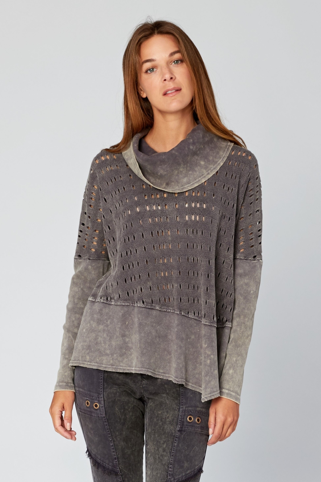 XCVI Colossal Knit Cowl Neck Pullover - Main Image