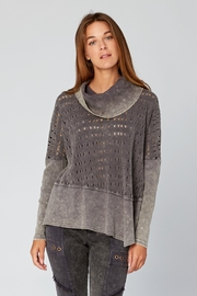 XCVI Colossal Knit Cowl Neck Pullover - Front cropped