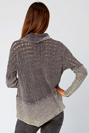 XCVI Colossal Knit Cowl Neck Pullover - Side cropped