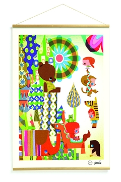 Djeco Coloured Story Print - Product List Image