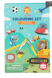 Schylling Colouring Set Adventures - Product Mini Image