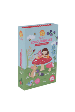 Schylling Colouring Set Forest Fairies - Product List Image