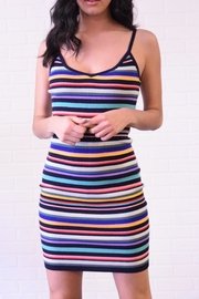 Better Be Colroful Stripe Dress - Product Mini Image