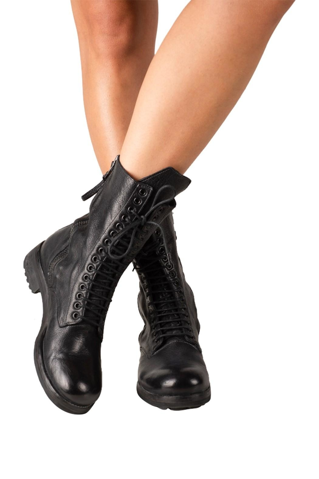 Keep Combat, Laceup, Ankle-Boots - Back Cropped Image