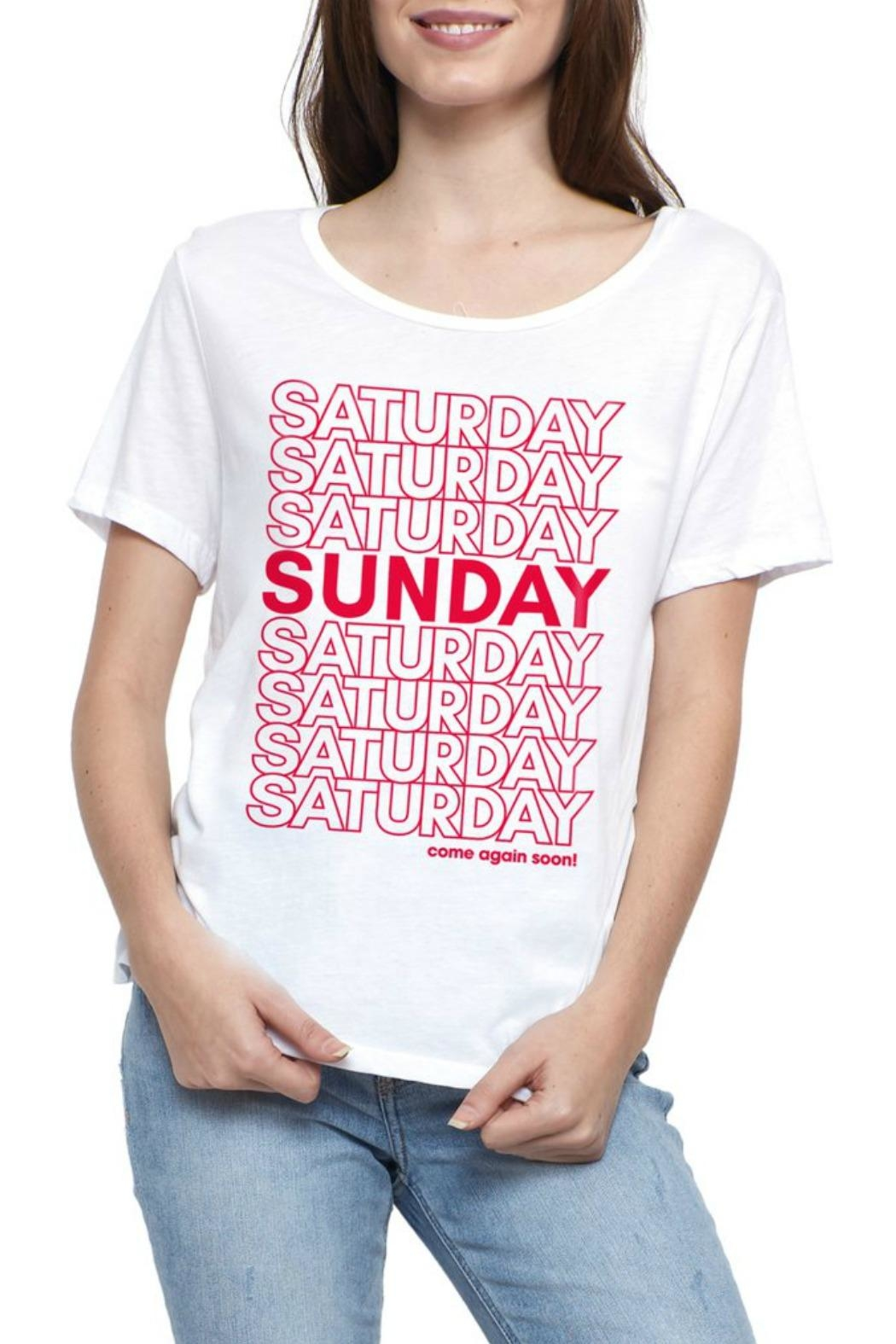 social sunday Come Again T-Shirt - Main Image