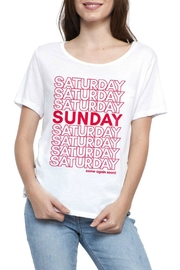 social sunday Come Again T-Shirt - Front cropped