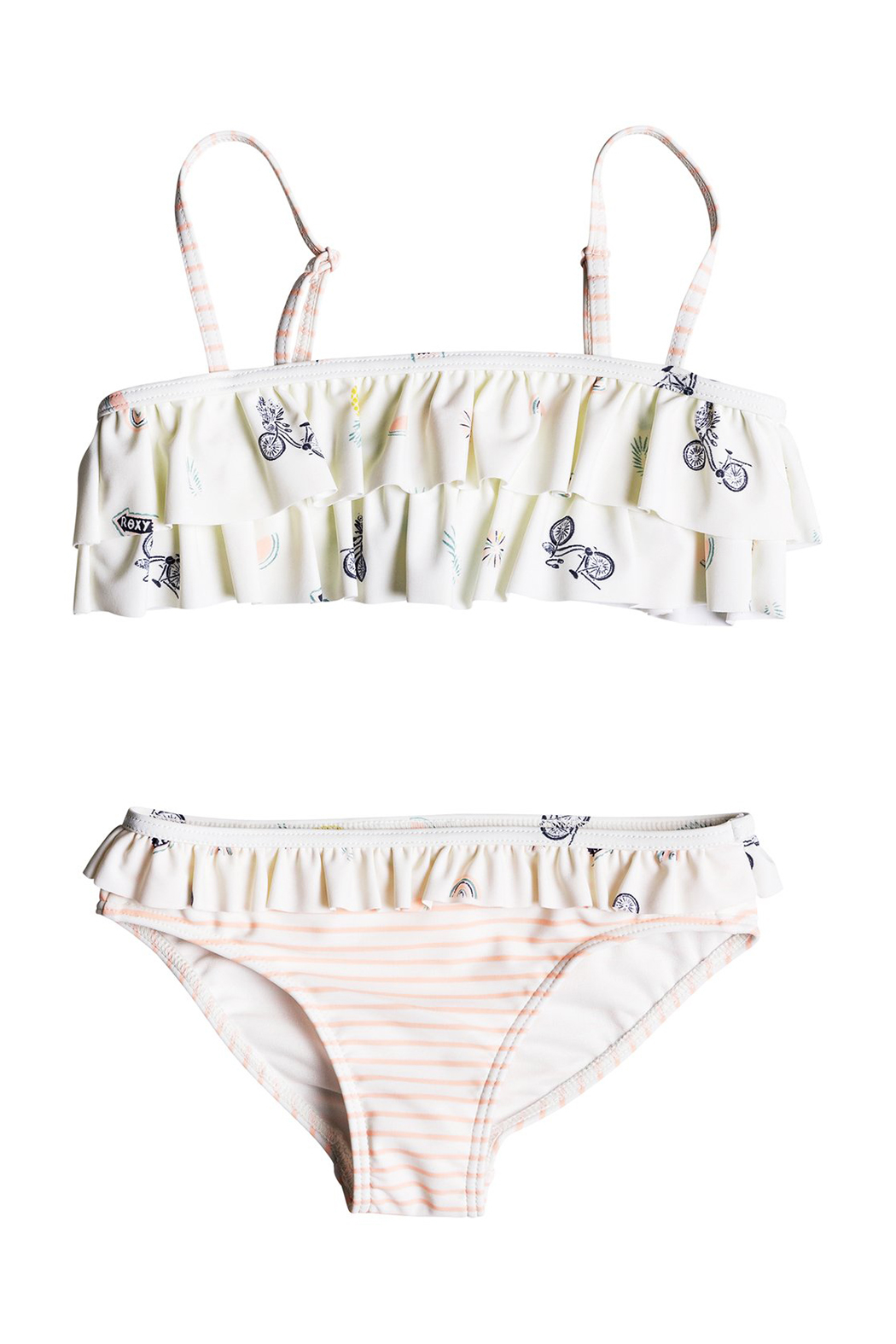 Roxy Come on Board Flutter Bikini Set - Front Cropped Image