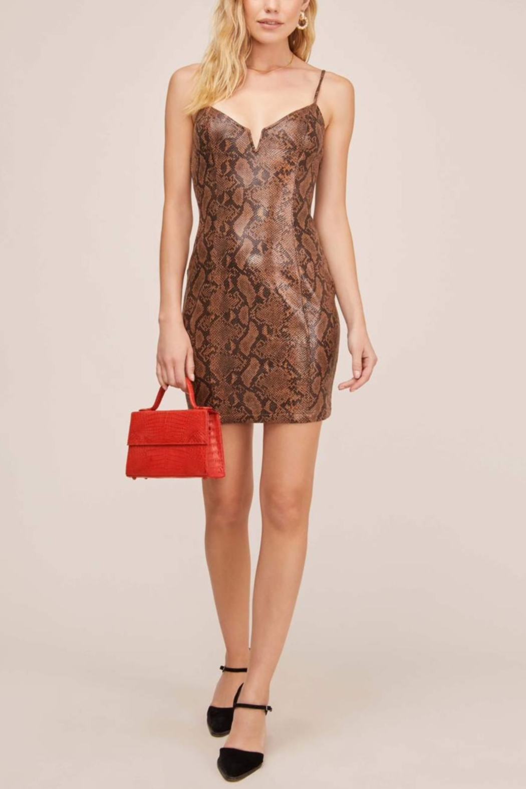 Aster Come Slither Mini Dress - Main Image