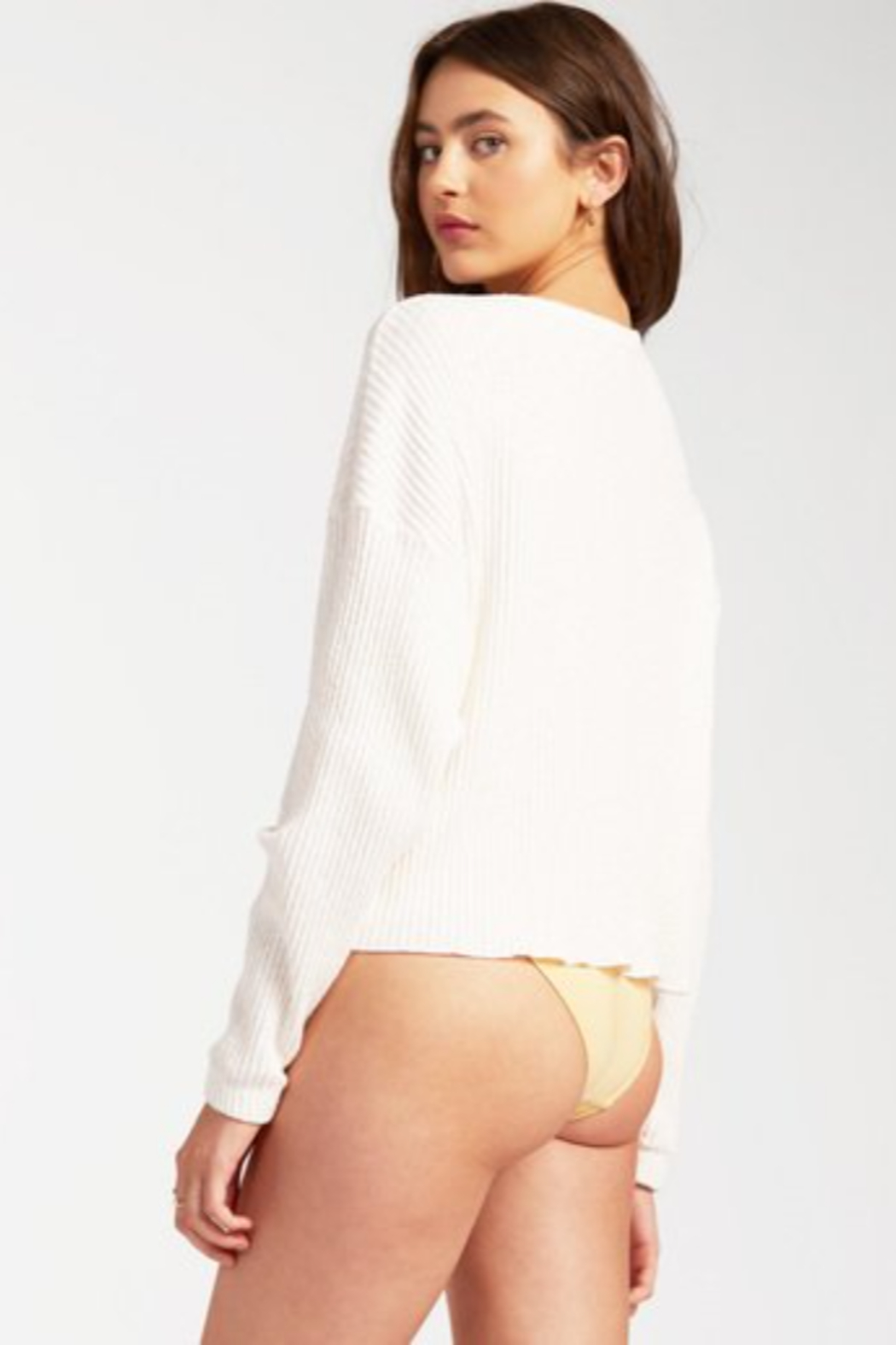 Billabong  Come Through Sweater - Side Cropped Image