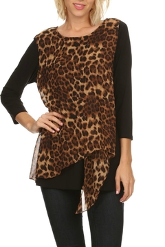 Come N See Long Leopard Tunic - Alternate List Image