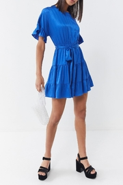 Lost + Wander Comet Ruffle Mini-Dress - Product Mini Image