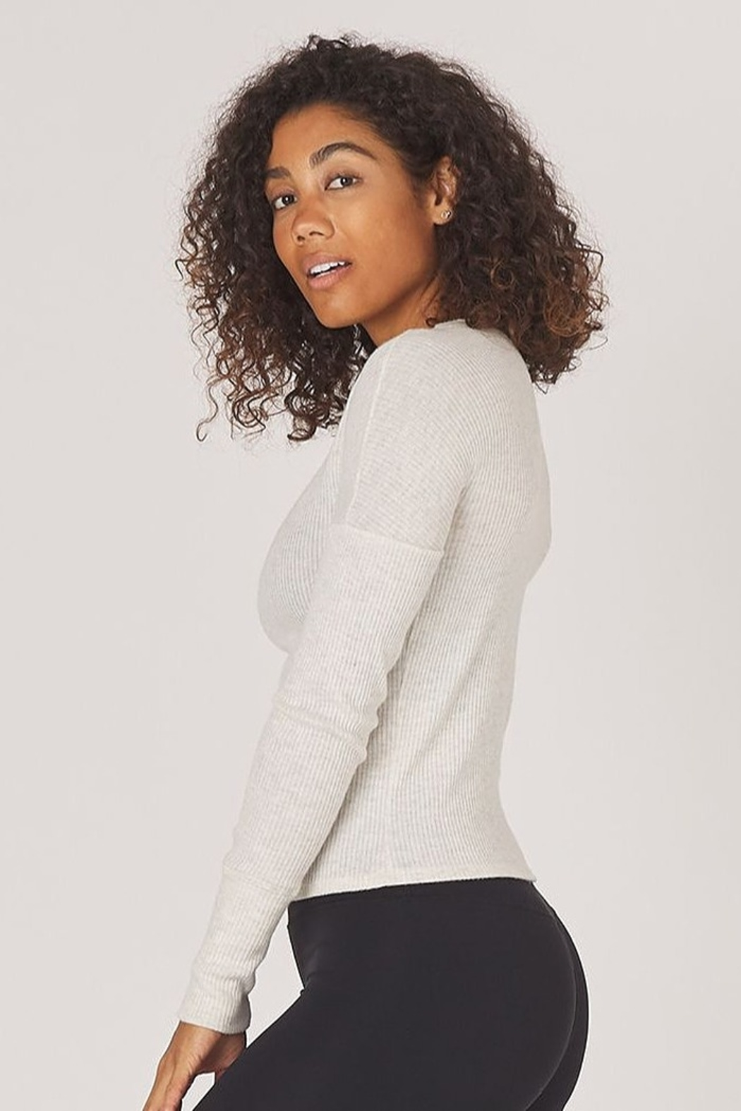 Glyder Comfort Long Sleeve Top - Front Full Image