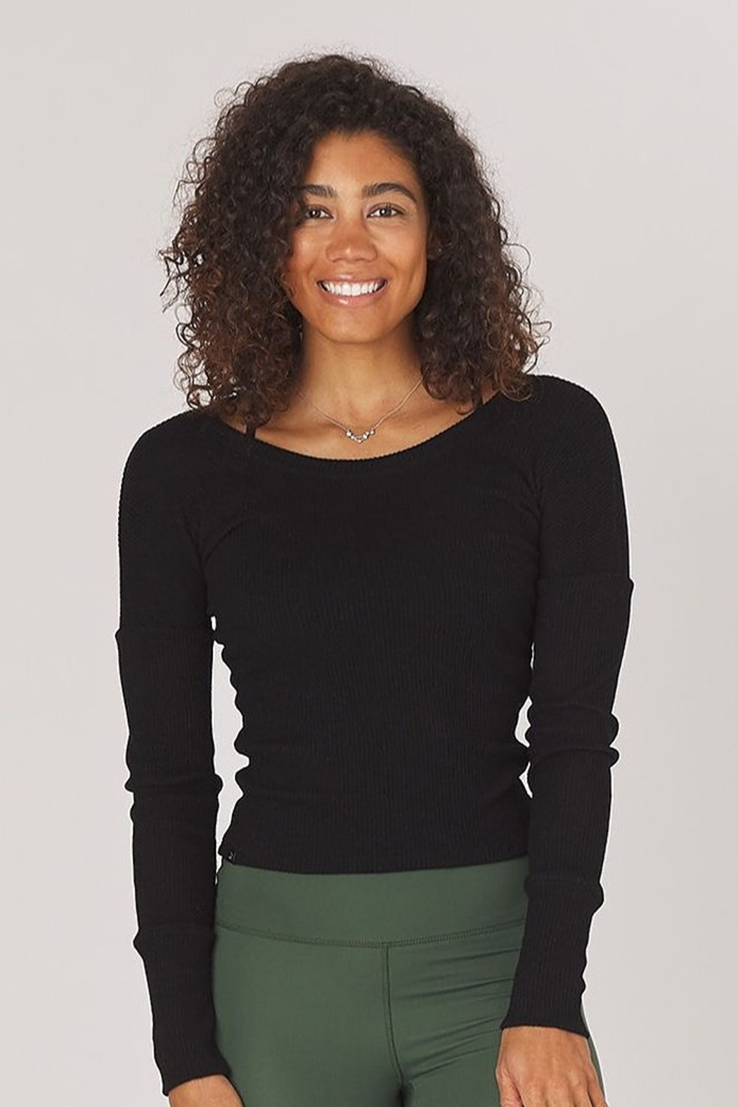 Glyder Comfort Long Sleeve Top - Front Cropped Image