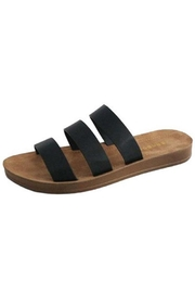 Bamboo Comfortable Strappy Slide - Product Mini Image