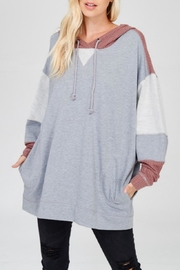 Wishlist Comfy Contrast Hoodie - Product Mini Image