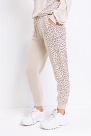 Le Lis Comfy Contrast Joggers - Front full body