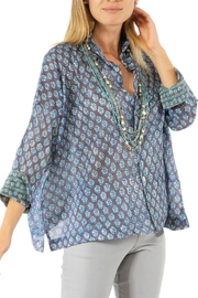 Gretchen Scott Comfy Cozy Cotton Voile Blouse - Product Mini Image