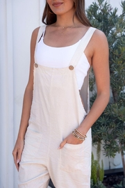 Venti6 Comfy Crinkle Overall - Back cropped