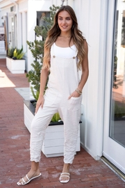 Venti6 Comfy Crinkle Overall - Front cropped