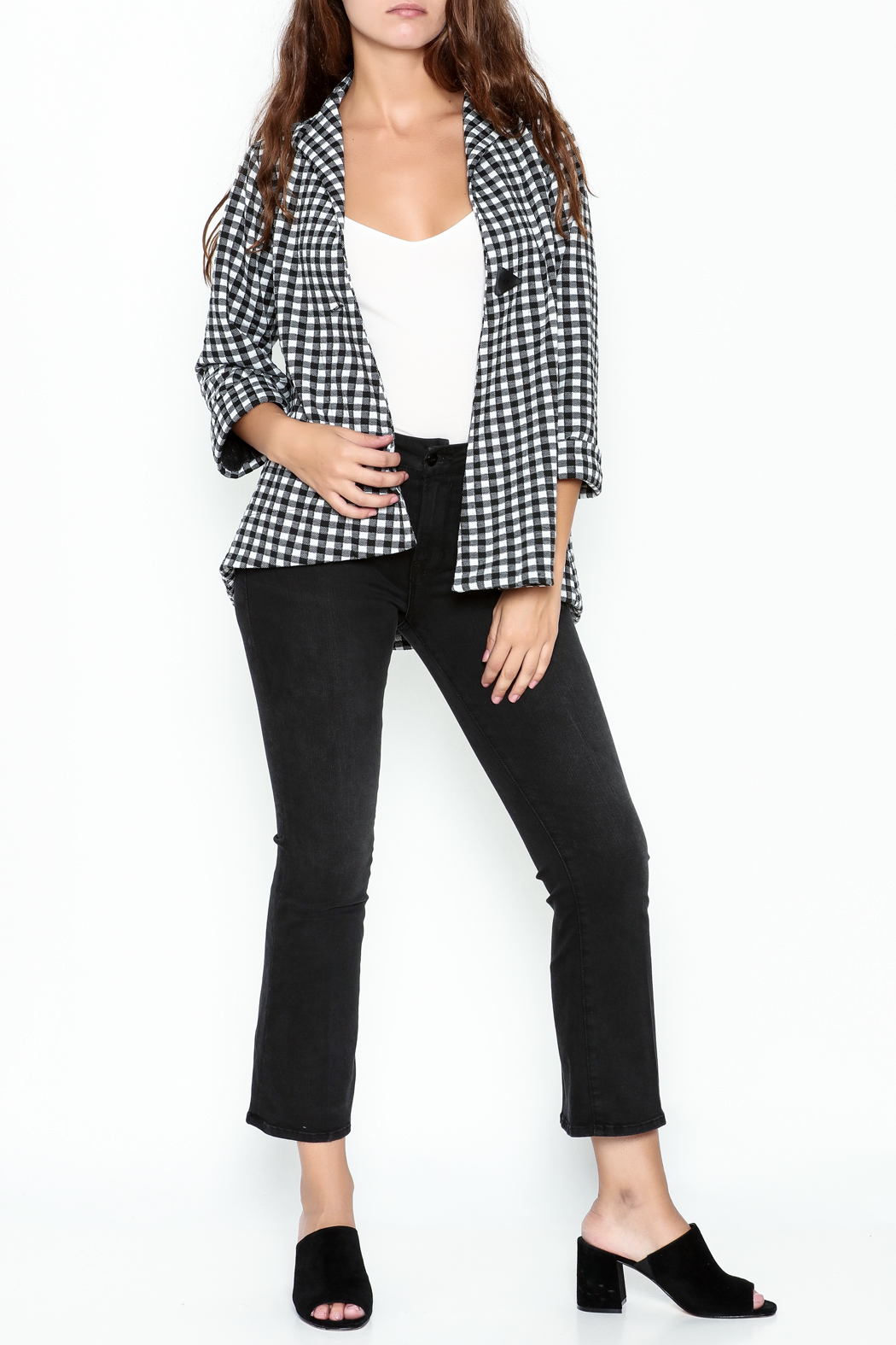 Comfy Cropped Jacket - Side Cropped Image