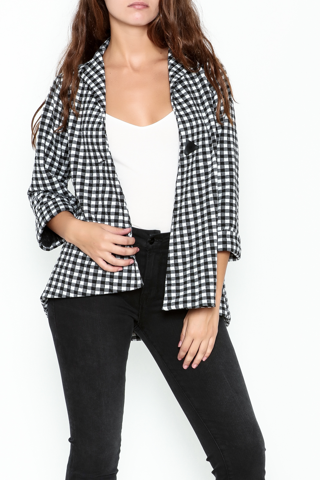 Comfy Cropped Jacket - Main Image
