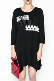 Comfy Graphic Tunic - Front full body